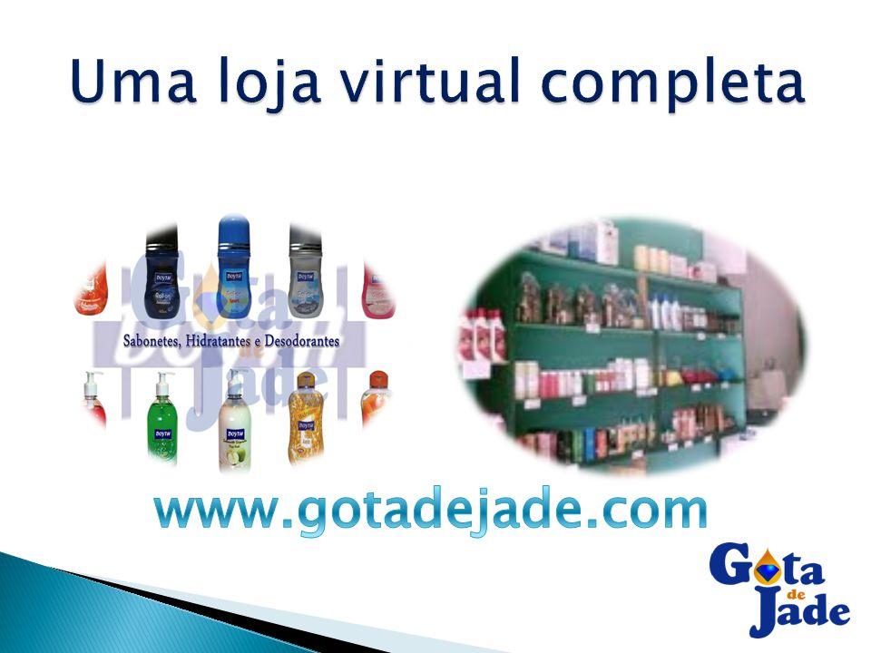 Uma loja virtual completa