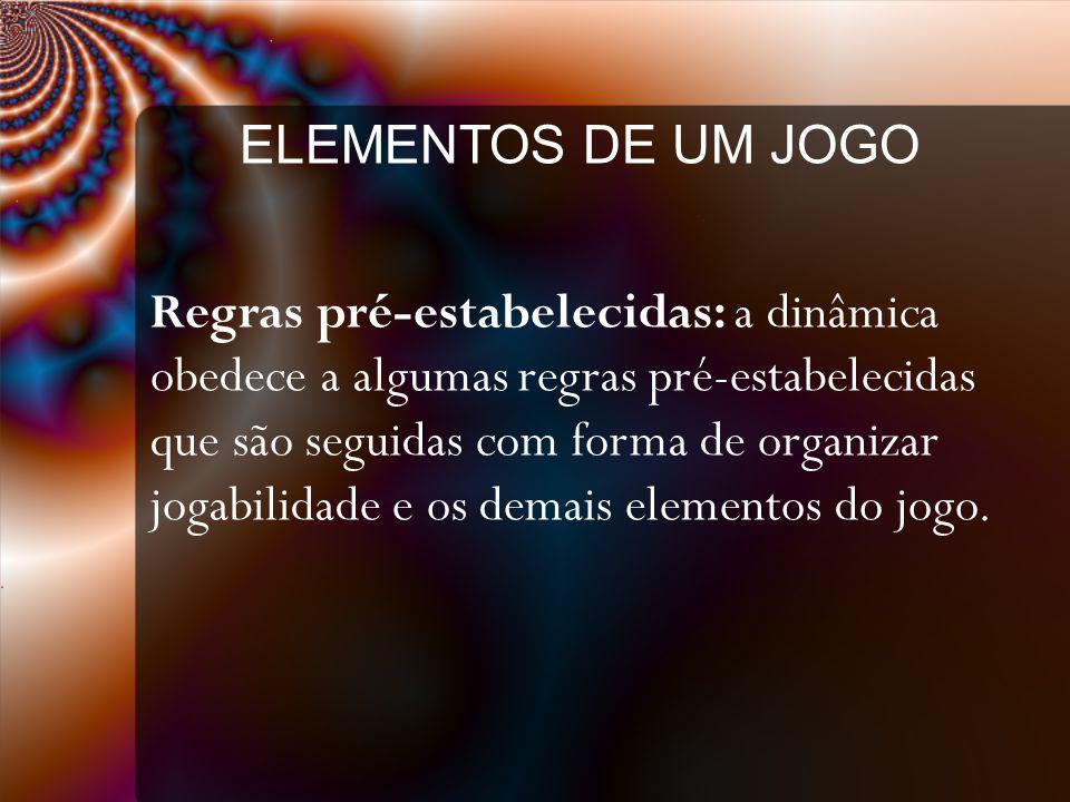 ELEMENTOS DE UM JOGO