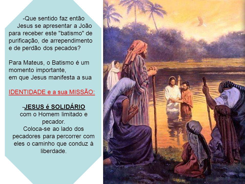 Jesus se apresentar a João