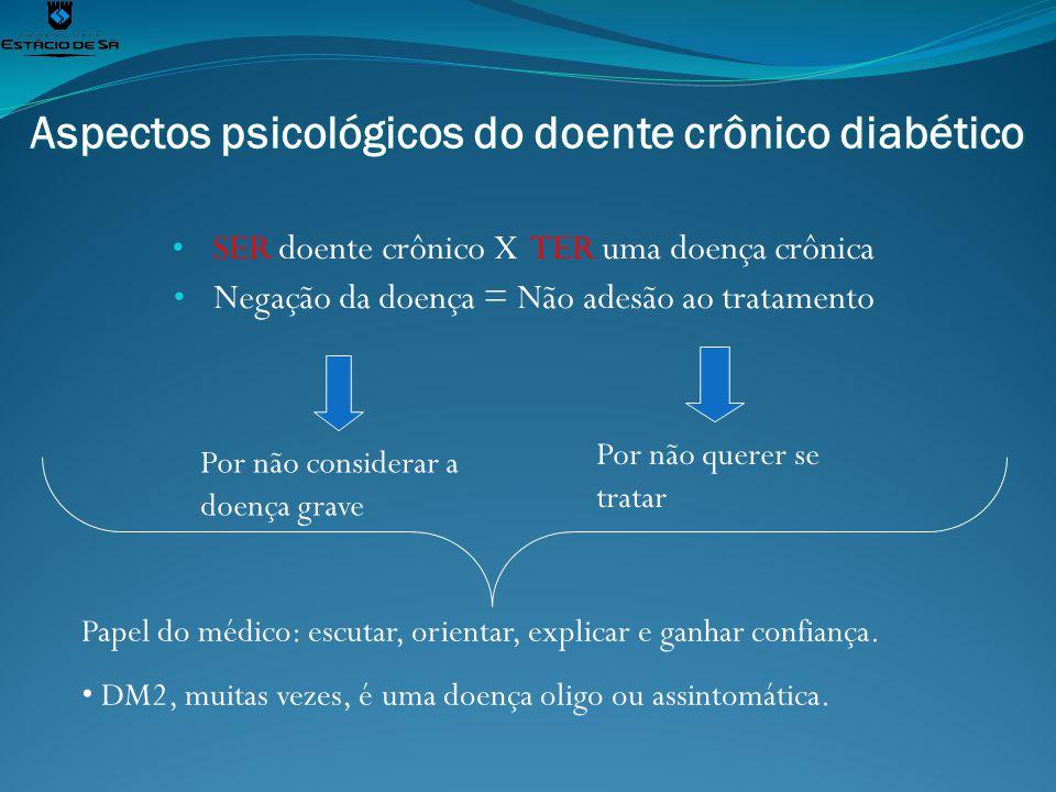 Aspectos psicológicos do doente crônico diabético