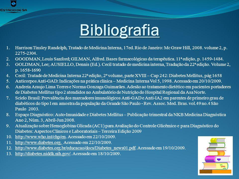 Bibliografia Harrison Tinsley Randolph, Tratado de Medicina Interna, 17ed. Rio de Janeiro: Mc Graw Hill, 2008. volume 2, p. 2275-2304.