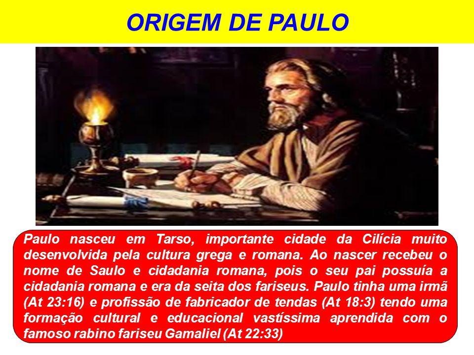 ORIGEM DE PAULO