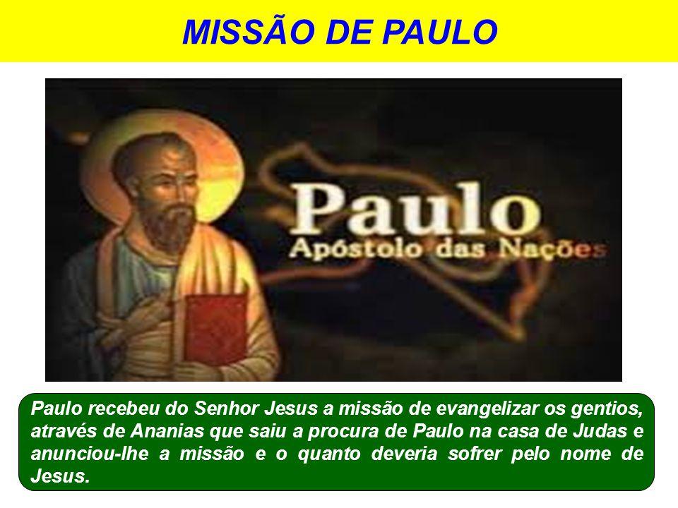 MISSÃO DE PAULO