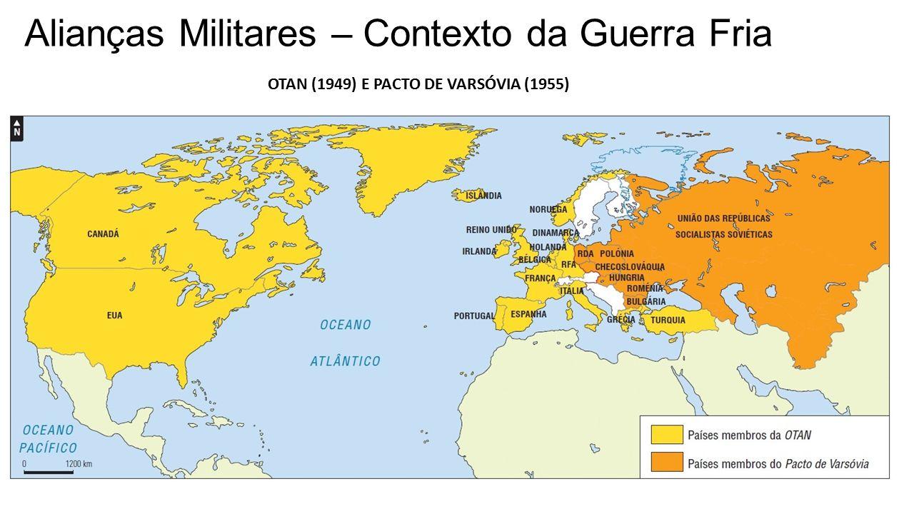 Alianças Militares – Contexto da Guerra Fria
