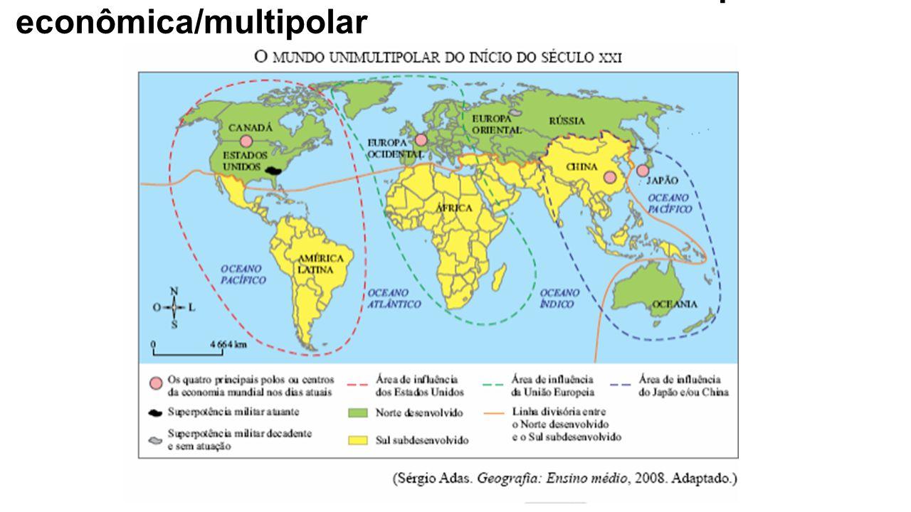 Nova ordem mundial – multipolaridade econômica/multipolar