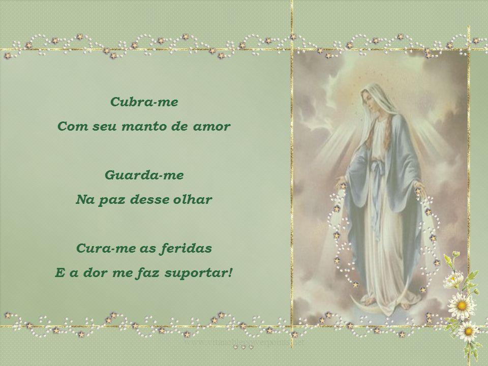 Se Eu Curvar Meu Corpo Na Dor Me A Frases Nossa: Nossa Senhora Canta: Roberto Carlos