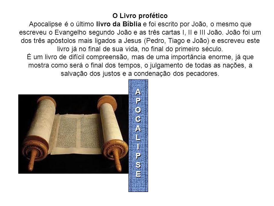 APOCALIPSE O Livro profético