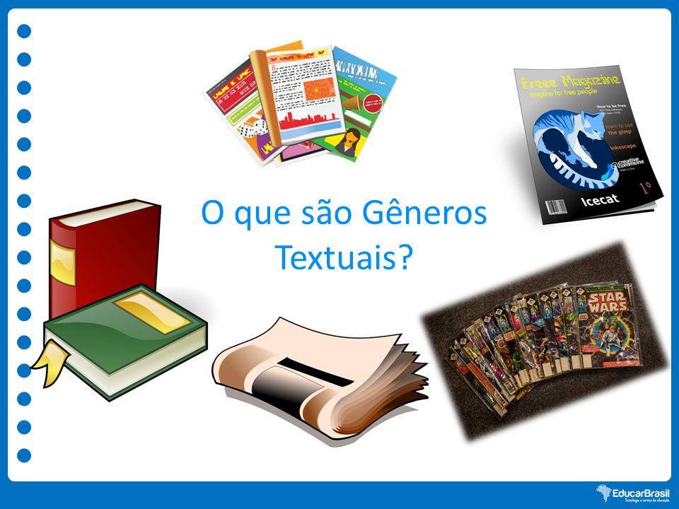 O que são Gêneros Textuais