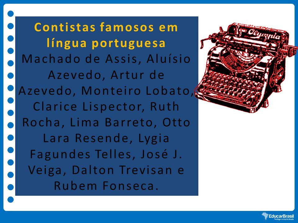 Contistas famosos em língua portuguesa
