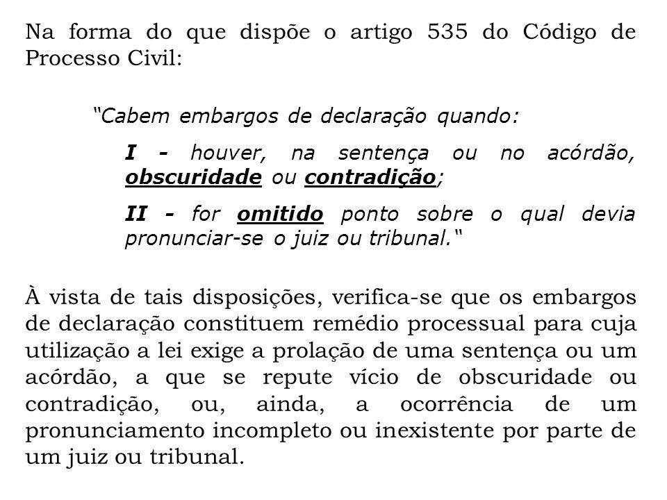 Artigo 535 do cpc