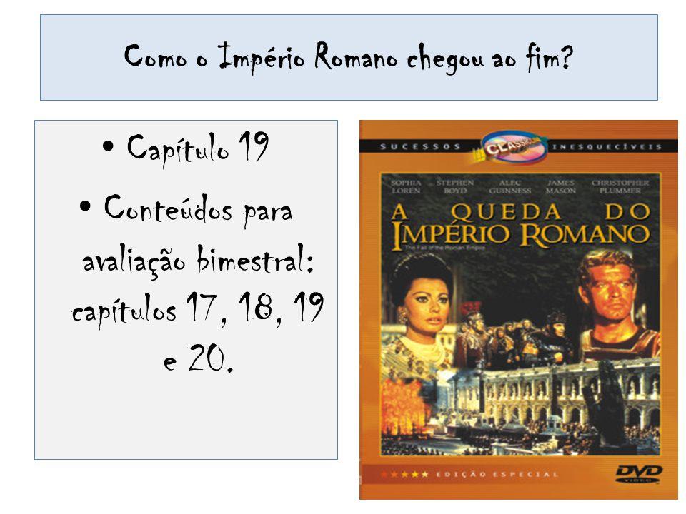 Como o Império Romano chegou ao fim