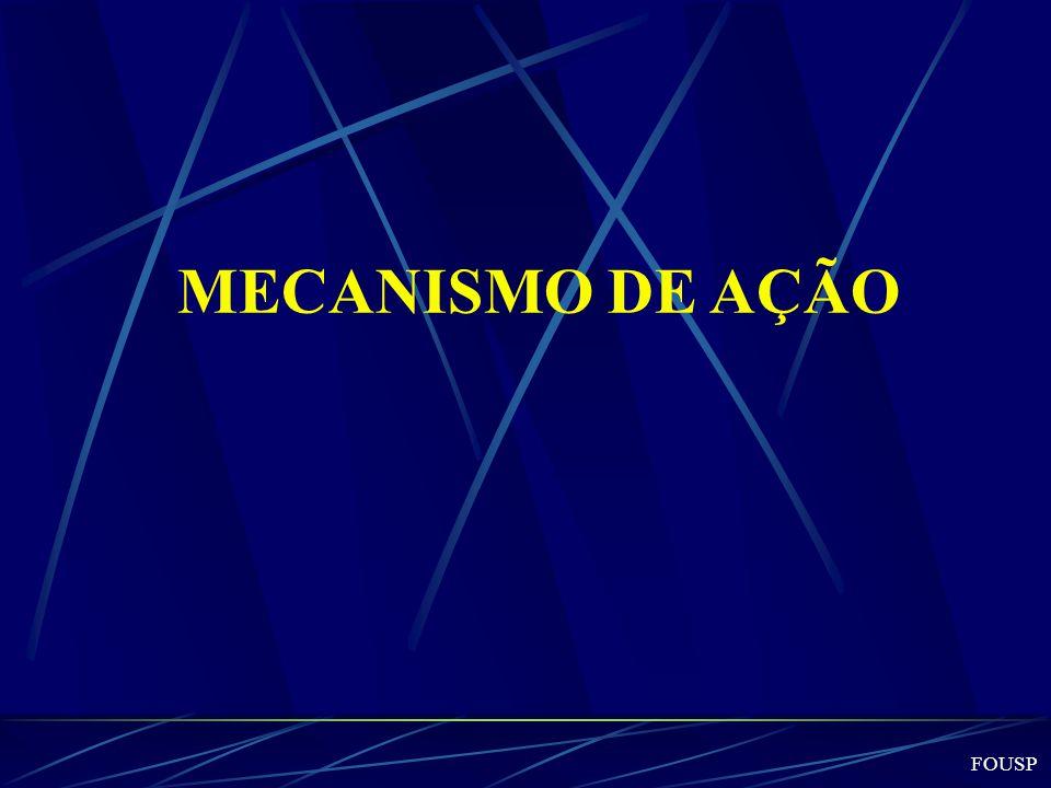 MECANISMO DE AÇÃO FOUSP