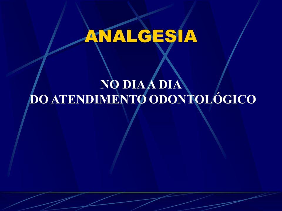 ANALGESIA NO DIA A DIA DO ATENDIMENTO ODONTOLÓGICO