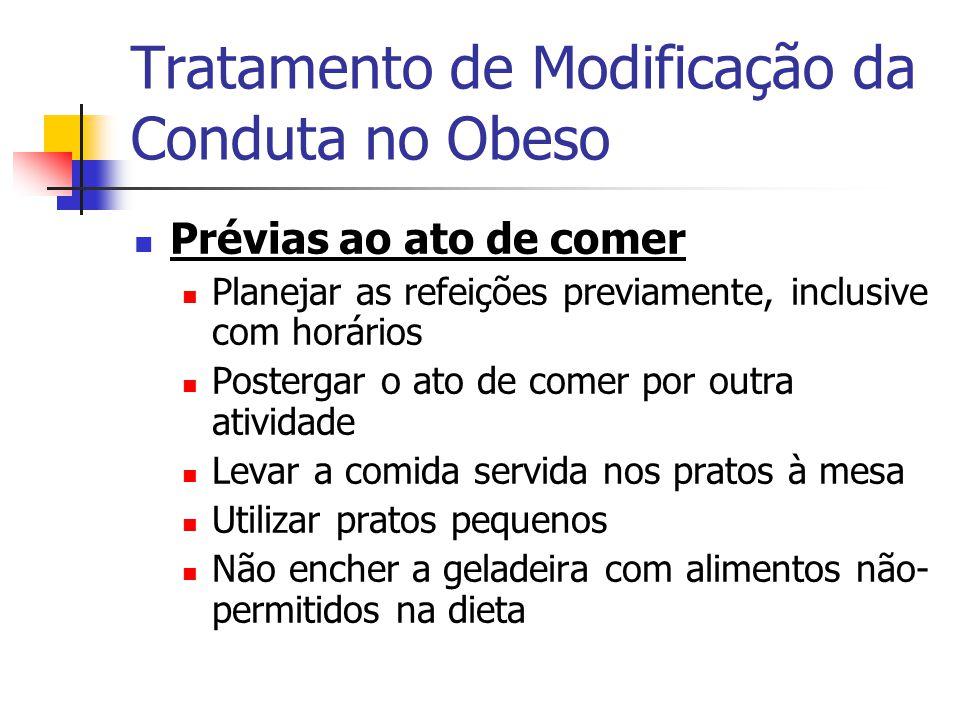 Tratamento de Modificação da Conduta no Obeso