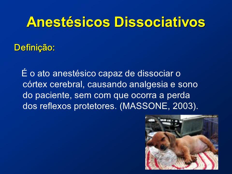 Anestésicos Dissociativos