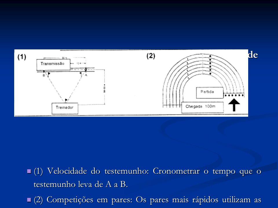 Adaptação da Técnica de Transmissão à Velocidade e Condições de uma Prova