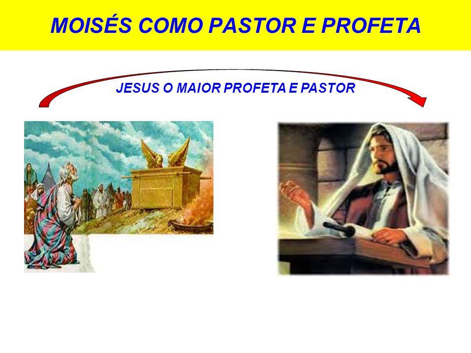 MOISÉS COMO PASTOR E PROFETA