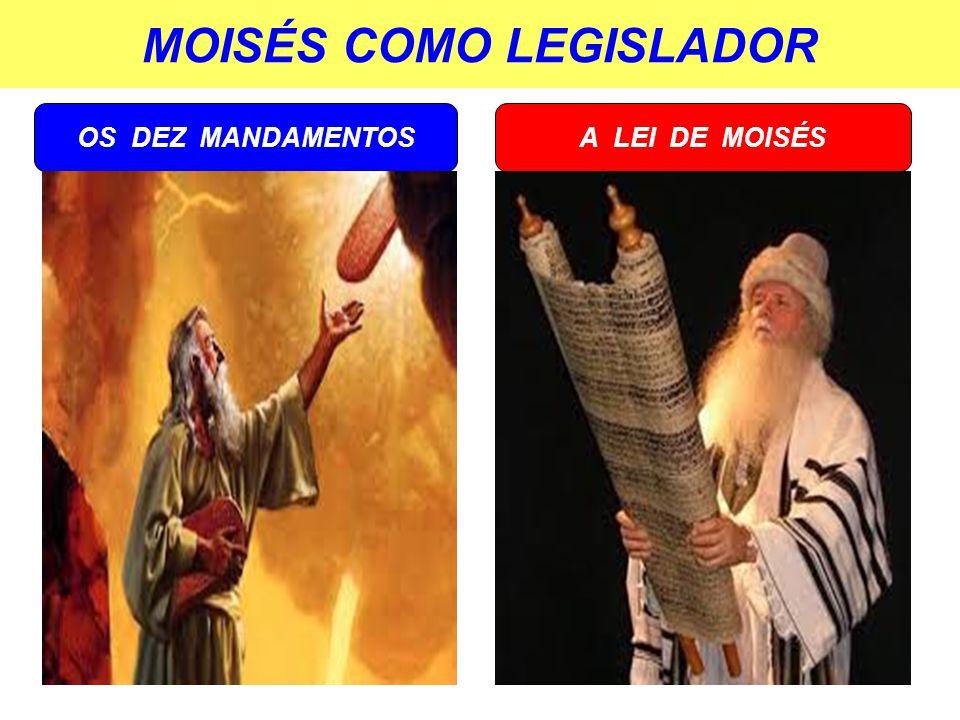MOISÉS COMO LEGISLADOR