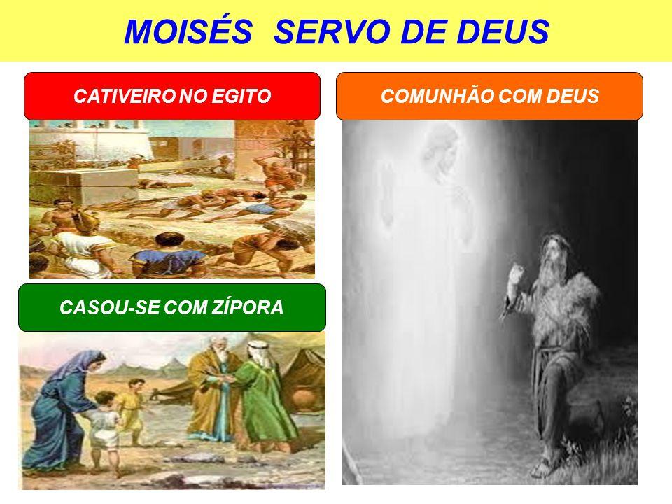 MOISÉS SERVO DE DEUS CATIVEIRO NO EGITO COMUNHÃO COM DEUS