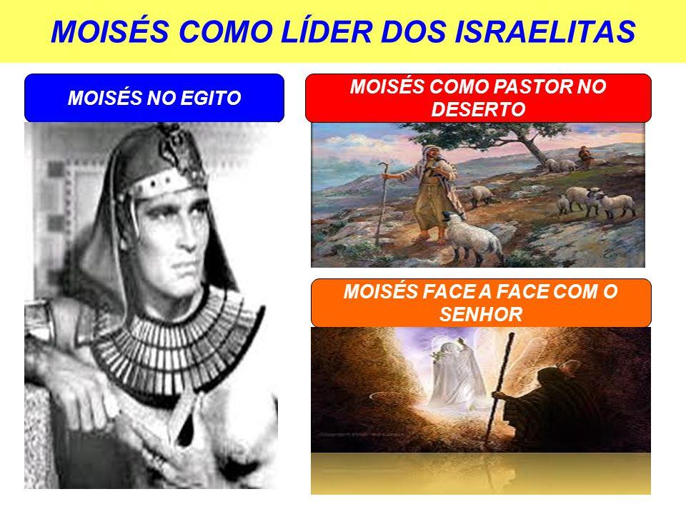 MOISÉS COMO LÍDER DOS ISRAELITAS