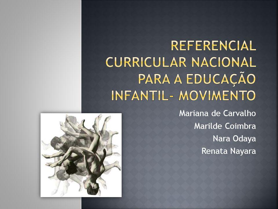 Referencial curricular nacional para a educação infantil- movimento