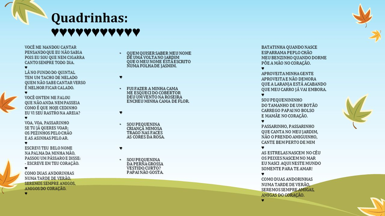 FORMAÇÃO PEDAGÓGICA 1ºs E 2ºs ANOS
