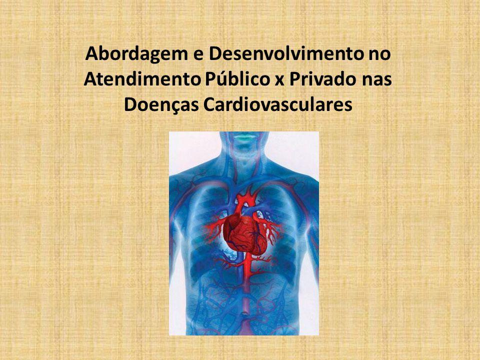 Abordagem e Desenvolvimento no Atendimento Público x Privado nas Doenças Cardiovasculares