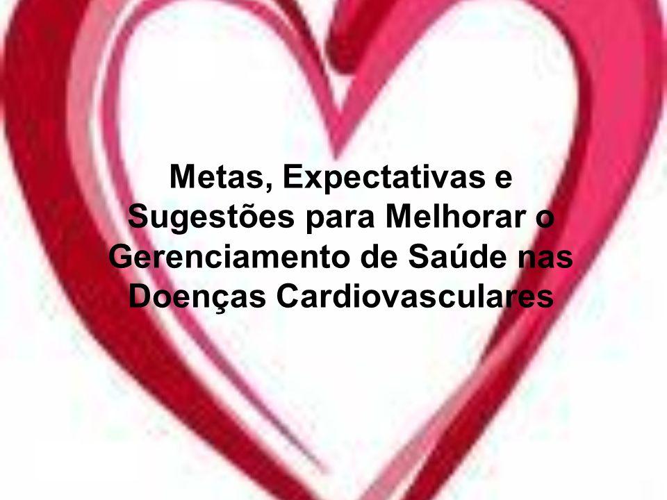Metas, Expectativas e Sugestões para Melhorar o Gerenciamento de Saúde nas Doenças Cardiovasculares