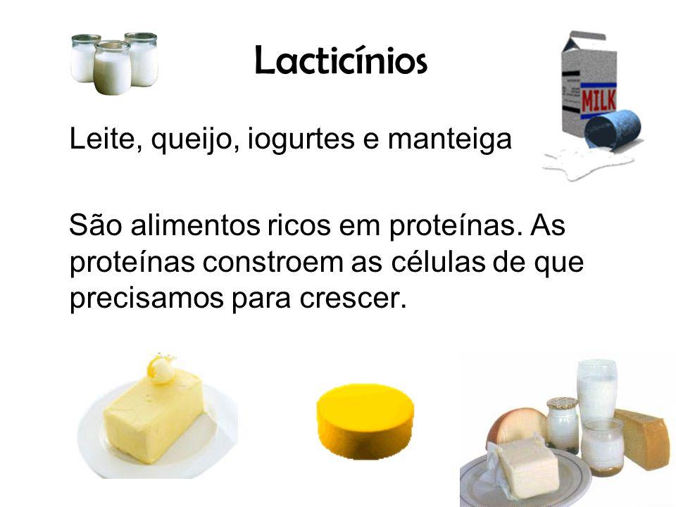 Lacticínios Leite, queijo, iogurtes e manteiga