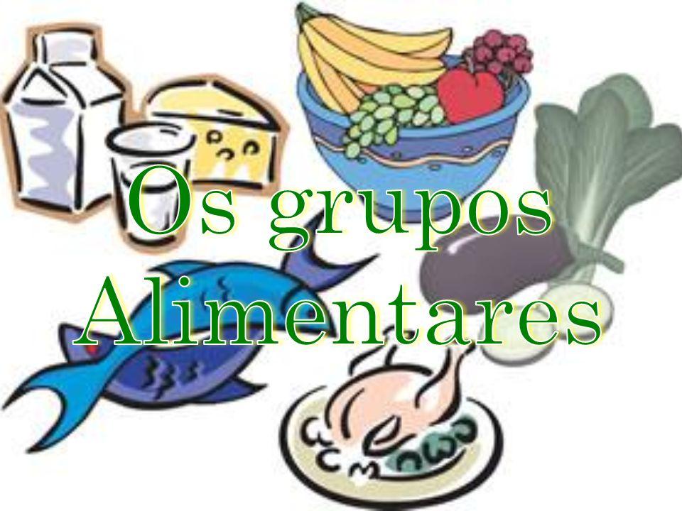 Os grupos Alimentares