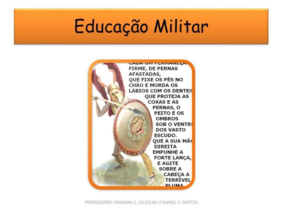 PROFESSORES: MARIANA C. DE SOUSA E RAFAEL C. BASTOS