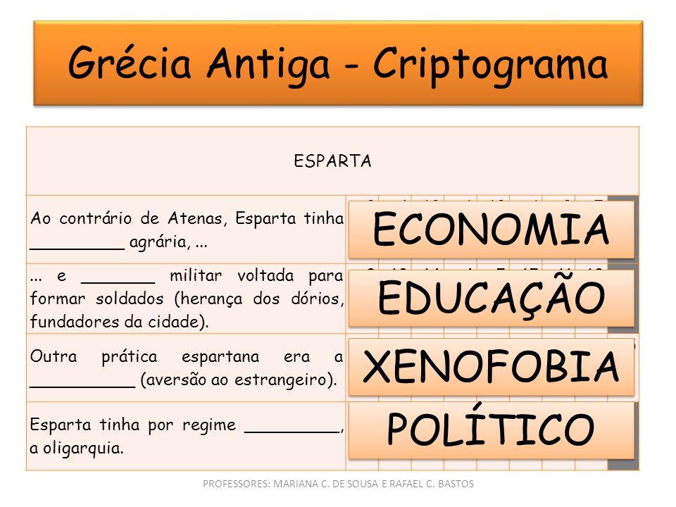 Grécia Antiga - Criptograma