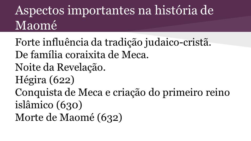 Aspectos importantes na história de Maomé