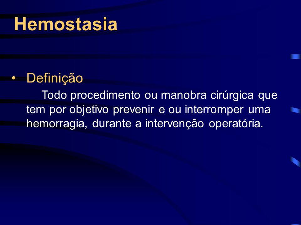 Hemostasia Definição.