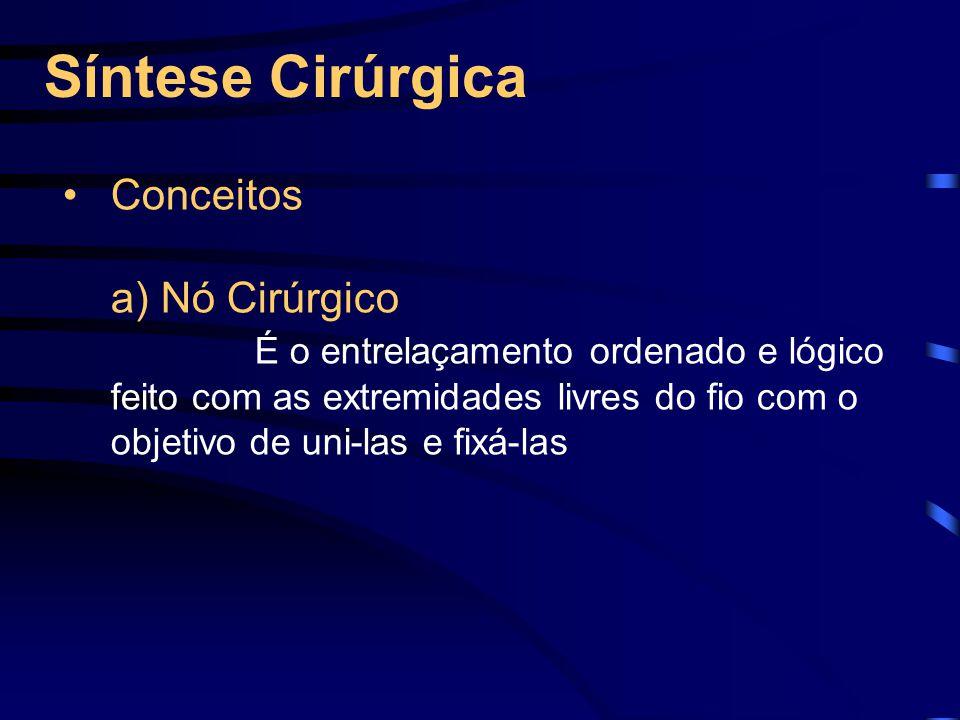 Síntese Cirúrgica Conceitos a) Nó Cirúrgico