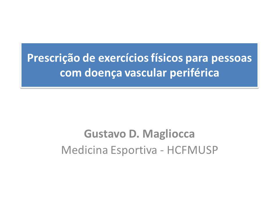Gustavo D. Magliocca Medicina Esportiva - HCFMUSP