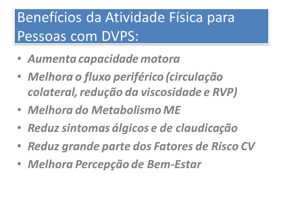 Benefícios da Atividade Física para Pessoas com DVPS: