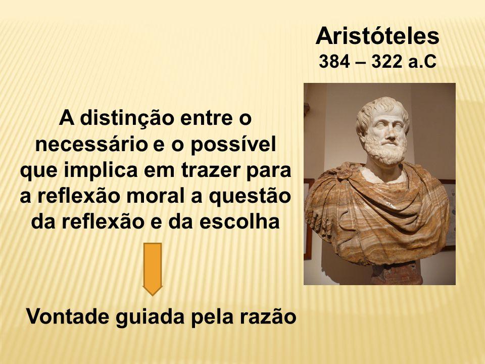 Aristóteles 384 – 322 a.C.