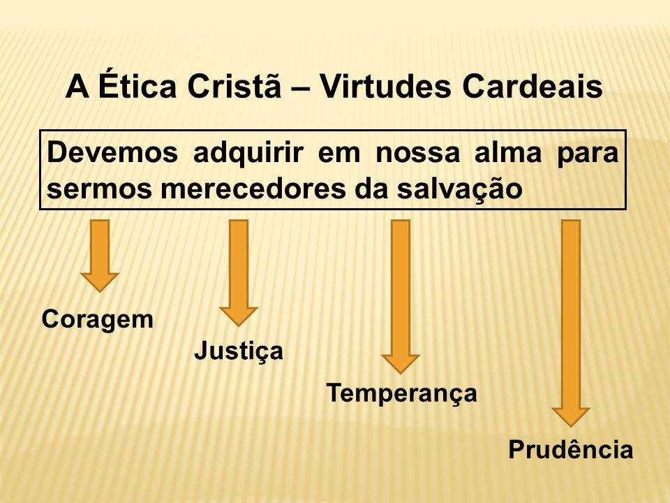 A Ética Cristã – Virtudes Cardeais