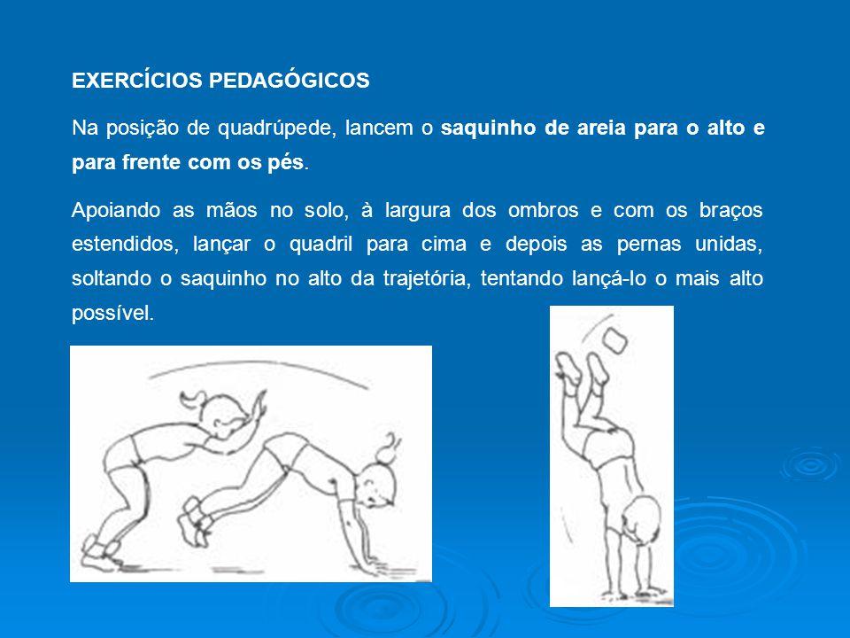 EXERCÍCIOS PEDAGÓGICOS