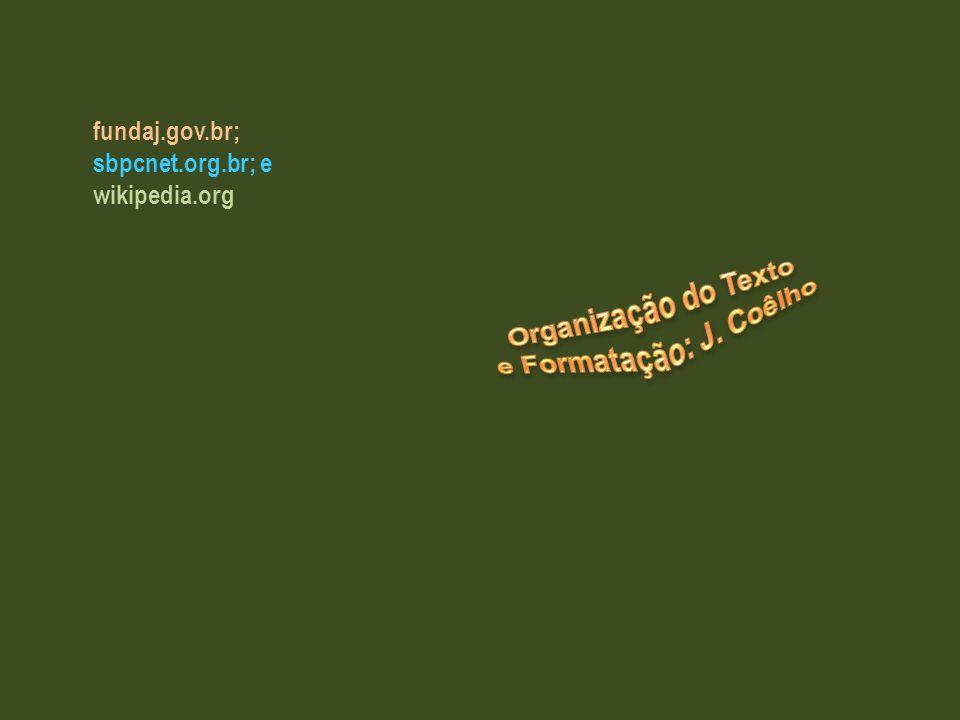 Organização do Texto e Formatação: J. Coêlho