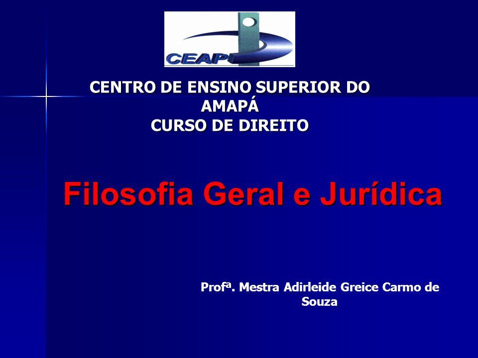 CENTRO DE ENSINO SUPERIOR DO AMAPÁ CURSO DE DIREITO