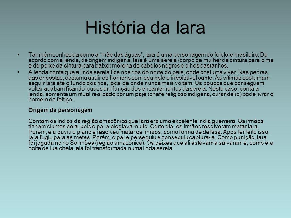 História da Iara