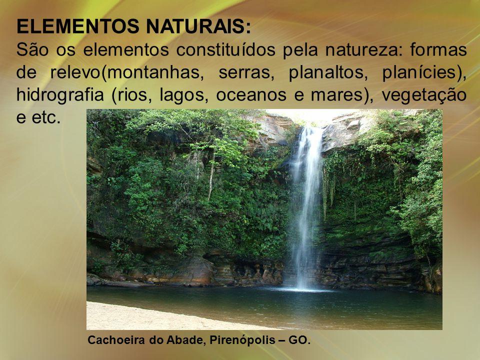ELEMENTOS NATURAIS: