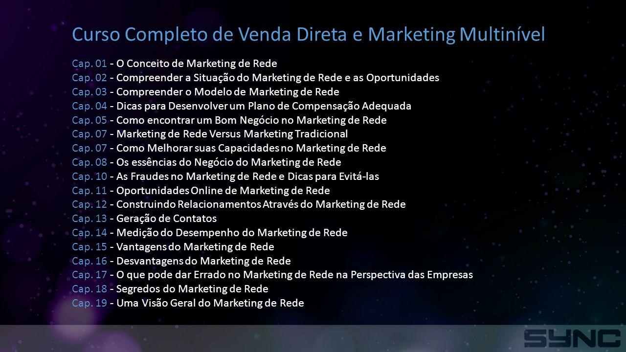 Curso Completo de Venda Direta e Marketing Multinível