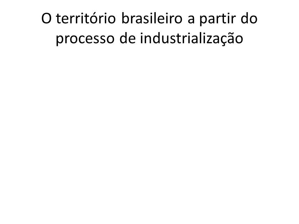 O território brasileiro a partir do processo de industrialização