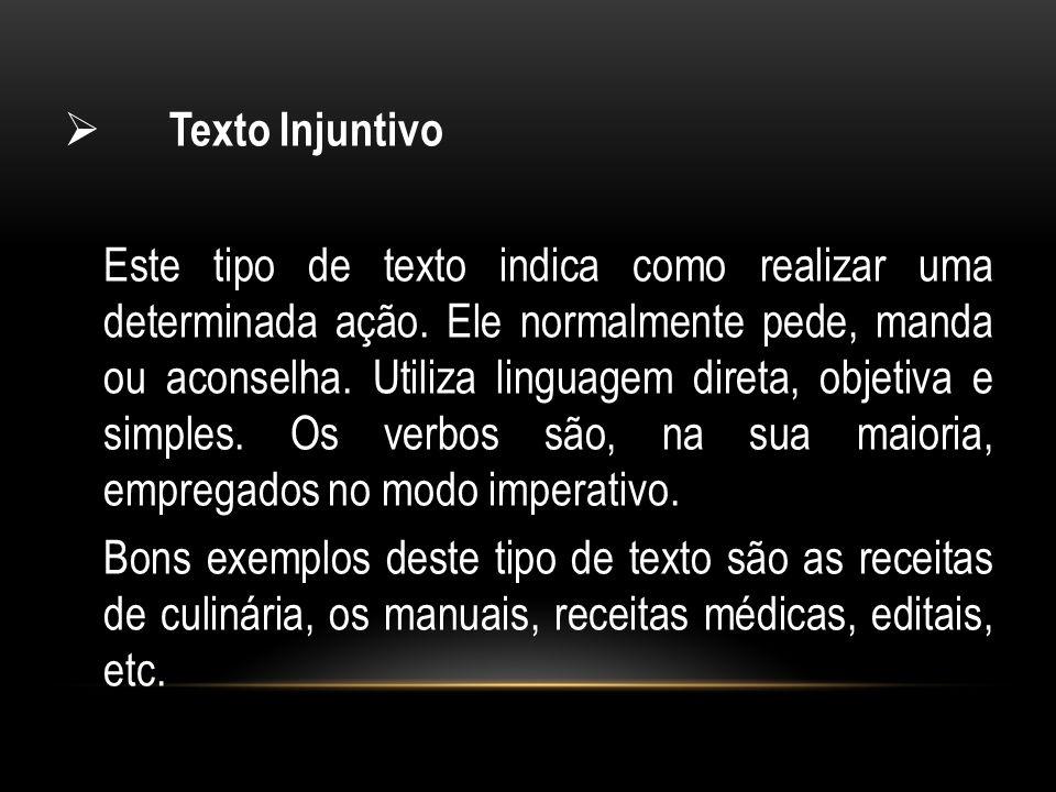 Texto Injuntivo