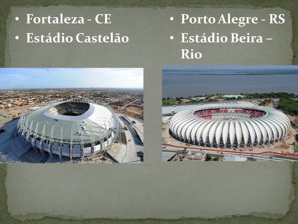Fortaleza - CE Estádio Castelão Porto Alegre - RS Estádio Beira – Rio