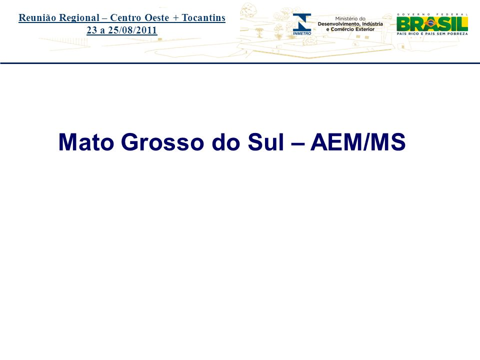 Mato Grosso do Sul – AEM/MS