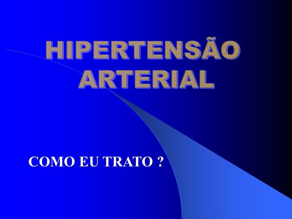 HIPERTENSÃO ARTERIAL COMO EU TRATO